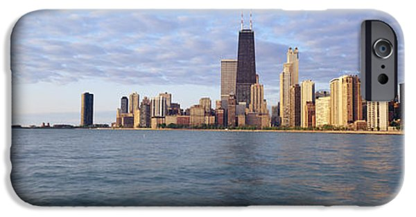 Lake Shore Drive iPhone Cases - Lake Michigan Chicago Il iPhone Case by Panoramic Images