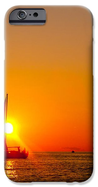 Lake Michigan Sunset iPhone Case by Bill Gallagher