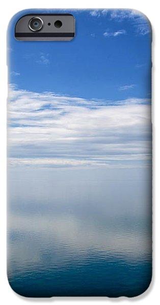 Lake Michigan's Lost Horizon iPhone Case by Mary Lee Dereske