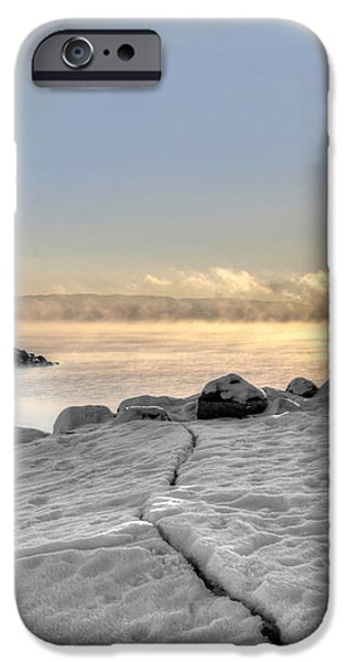 Lake Mjosa Inlet iPhone Case by Chris Shirley