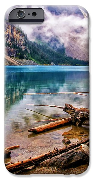 Fed iPhone Cases - Lake Moraine iPhone Case by Carolyn Derstine
