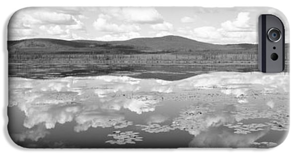 Yukon Territory iPhone Cases - Lake Near Beaver Creek. Yukon iPhone Case by Panoramic Images