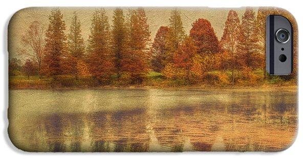Fall Scenes iPhone Cases - Lake Nevin iPhone Case by Darren Fisher