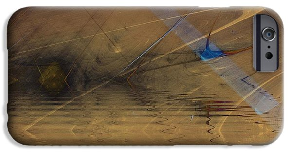 Recently Sold -  - Abstract Digital iPhone Cases - Lake of Souls iPhone Case by David Jenkins