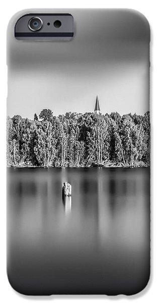 Lake Oyeren iPhone Case by Erik Brede