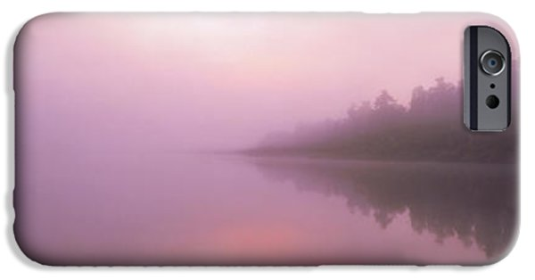 Pastel iPhone Cases - Lake Paringa South Island New Zealand iPhone Case by Panoramic Images