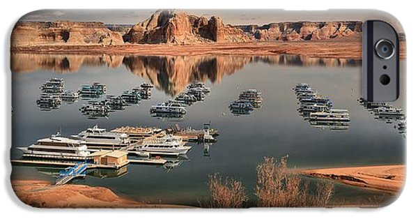 Wahweap iPhone Cases - Lake Powell iPhone Case by Adam Jewell