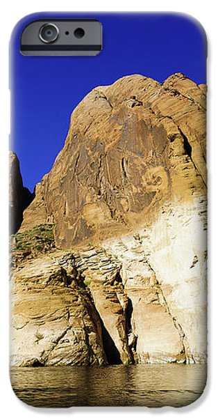Lake Powell Rock and Sky iPhone Case by Thomas R Fletcher