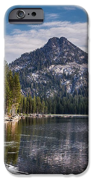 Lake Reflection iPhone Case by Robert Bales