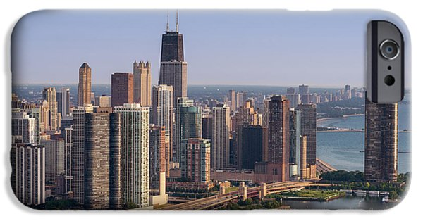 Lake Shore Drive iPhone Cases - Lake Shore Drive Curve Chicago iPhone Case by Steve Gadomski