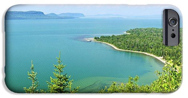 Great Lakes iPhone Cases - Lake Superior iPhone Case by Elena Elisseeva
