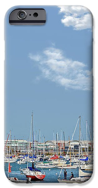 Lakefront Chicago iPhone Case by Christine Till