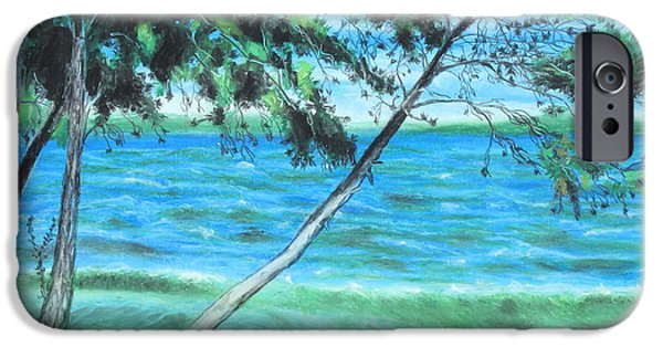 Outdoors Pastels iPhone Cases - Lakeland 3 iPhone Case by Jeanne Fischer