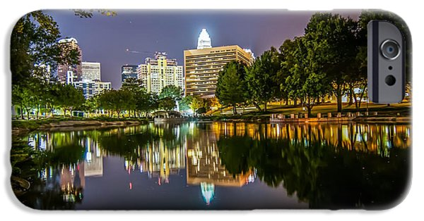 Charlotte iPhone Cases - Lakeside in Charlotte iPhone Case by Mountain Dreams