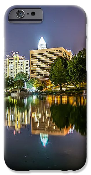 Lakeside in Charlotte iPhone Case by Mountain Dreams