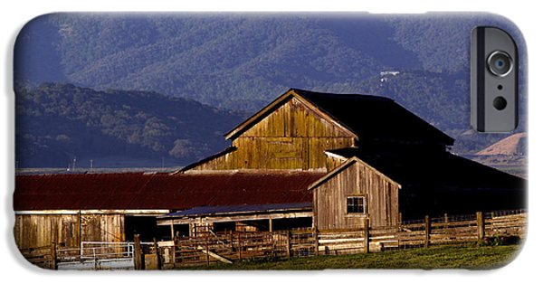 Bill Gallagher Photographs iPhone Cases - Lakeville Barn iPhone Case by Bill Gallagher