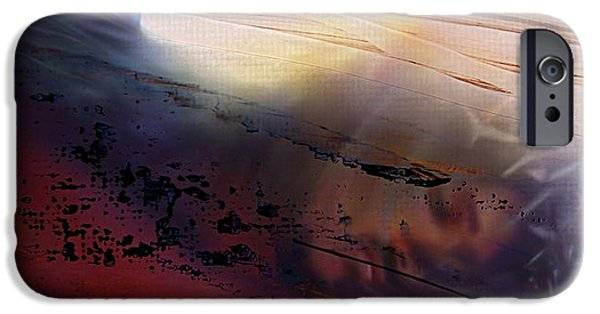 Abstract Digital Mixed Media iPhone Cases - Lamb of God iPhone Case by Kume Bryant