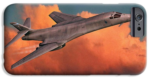 Lancer iPhone Cases - Lancing the Sky iPhone Case by Dale Jackson