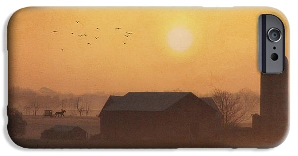 Amish iPhone Cases - Land of the Amish iPhone Case by Lori Deiter