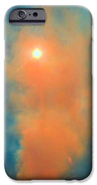 Colorado Fires iPhone Cases - Land On Fire iPhone Case by Dan Sproul