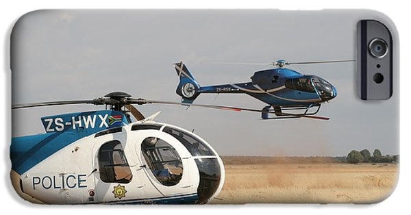 Police iPhone Cases - Landing on a Wing iPhone Case by Paul Job