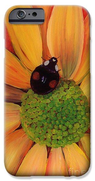 Flora Glass iPhone Cases - Landing Pad iPhone Case by Anna Skaradzinska
