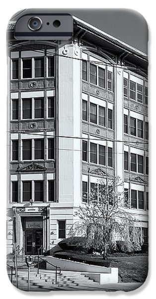 Landmark Life Savers Building II iPhone Case by Clarence Holmes