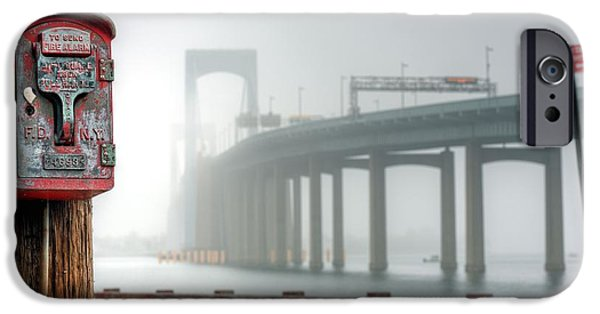 Bayside iPhone Cases - Landmarks iPhone Case by JC Findley