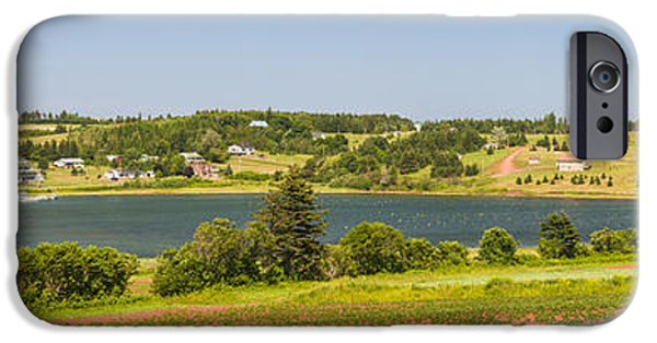 Province iPhone Cases - Landscape panorama of Prince Edward Island  iPhone Case by Elena Elisseeva