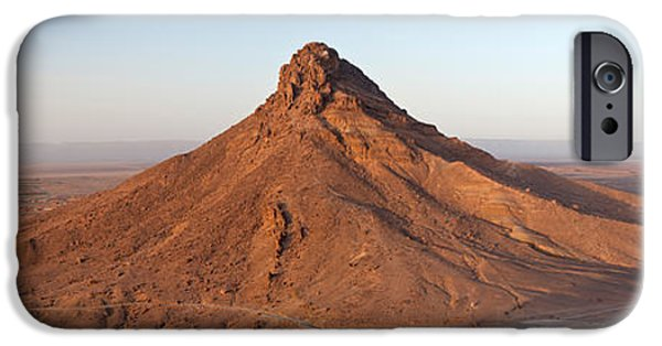 Mounds iPhone Cases - Landscape, Zagora, Morocco iPhone Case by Panoramic Images