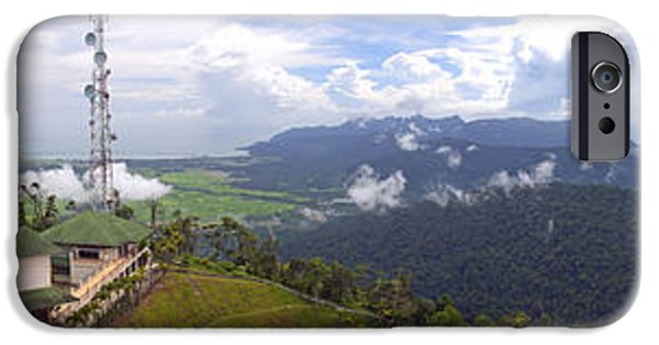 Fog Mist iPhone Cases - Langkawi Views iPhone Case by Tim Hester