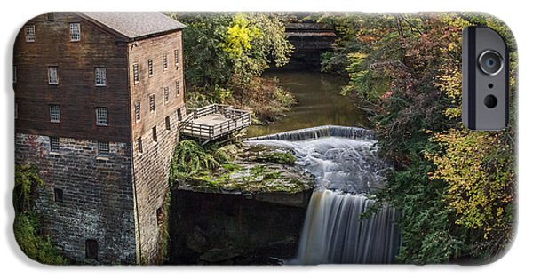 Old Mill Scenes iPhone Cases - Lantermans Mill iPhone Case by Dale Kincaid