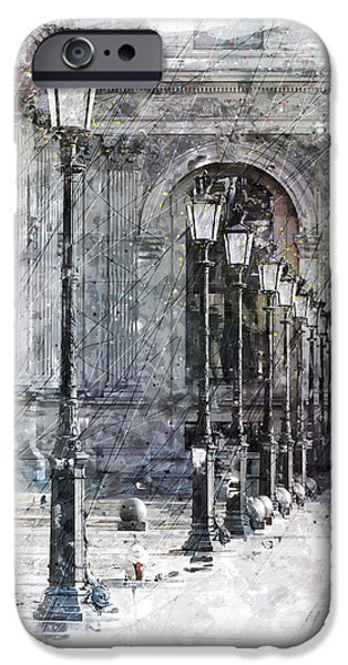 Lantern Digital Art iPhone Cases - Lanterns iPhone Case by Gary Bodnar