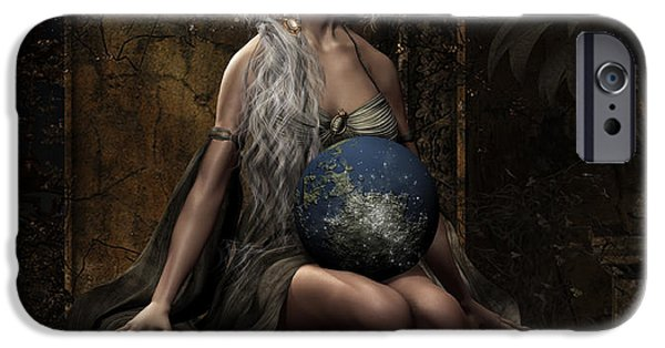 Destiny iPhone Cases - Lap of the Gods iPhone Case by Shanina Conway