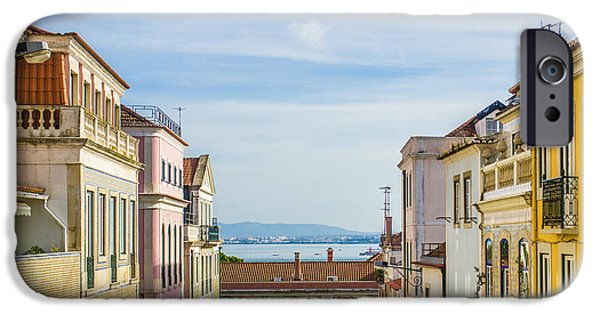 Balcony iPhone Cases - Lapa Neighborhood iPhone Case by Carlos Caetano