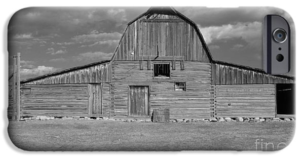 United States iPhone Cases - Large Barn iPhone Case by Kathleen Struckle