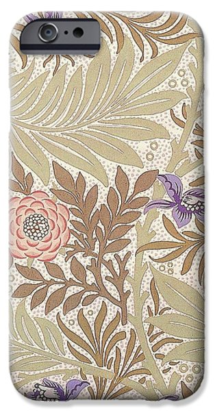 Larkspur Design iPhone Case by William Morris