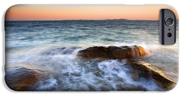 San Juan iPhone Cases - Larrabee Sunset iPhone Case by Mike  Dawson