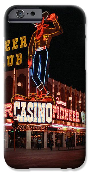 Las Vegas 1983 iPhone Case by Frank Romeo