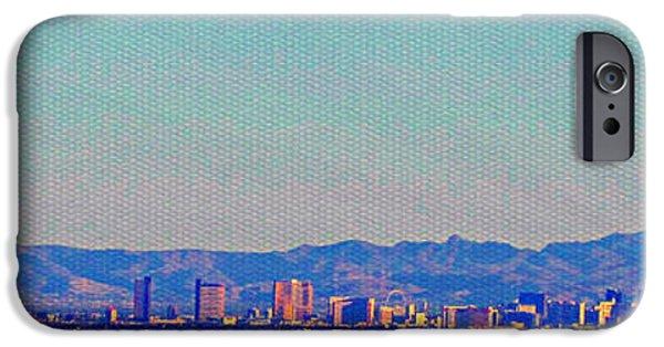 Michelle iPhone Cases - Las Vegas iPhone Case by Michelle Dallocchio