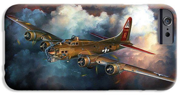 Combat iPhone Cases - Last Flight For Nine-O-Nine iPhone Case by Randy Green
