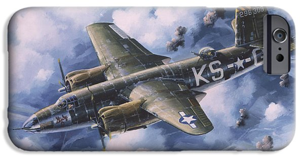Randy iPhone Cases - Last Flight of the SHIRLEY D iPhone Case by Randy Green