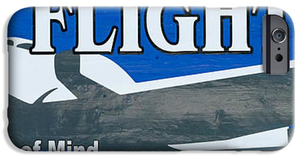 Flight iPhone Cases - Last Flight Out a Key West State of Mind - Panoramic iPhone Case by Ian Monk