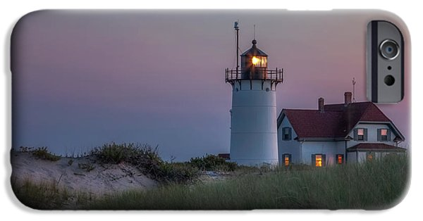 New England Lighthouse iPhone Cases - Last Light iPhone Case by Bill  Wakeley