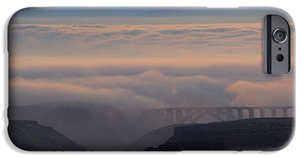 Yakima Valley iPhone Cases - Last Light over Mt. Adams iPhone Case by Mike Dawson