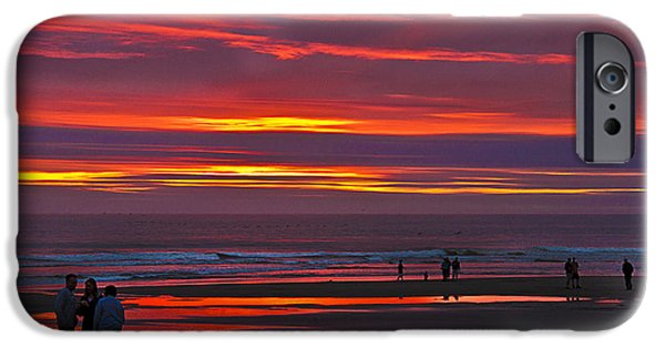 Cape Disappointment iPhone Cases - Last of the Light iPhone Case by Robert Bales