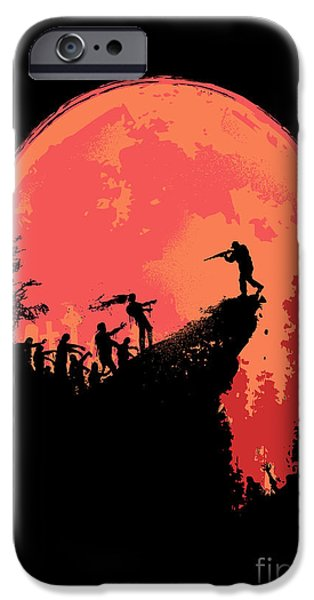 Last Stand iPhone Case by Budi Kwan