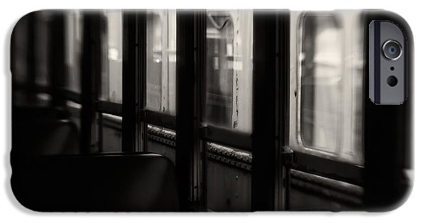 Repetition Photographs iPhone Cases - Last Stop iPhone Case by Amy Weiss
