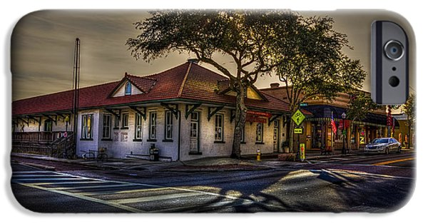Railway iPhone Cases - Last Stop Tarpon Springs iPhone Case by Marvin Spates