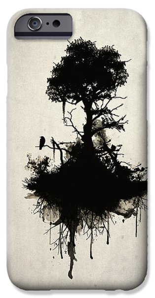 Smoke iPhone Cases - Last Tree Standing Case iPhone Case by Nicklas Gustafsson